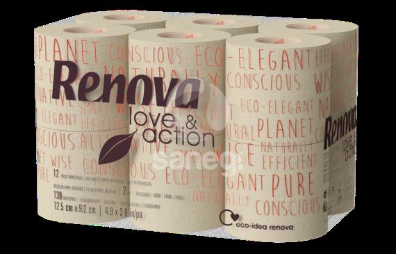 Papel Higiénico Renova Love & Action